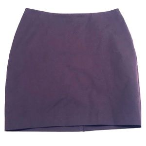 NWT Banana Republic purple skirt size 12